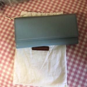 WANT Les Essentiels Bags - Want Les Essentials De La Vie blue leather wallet